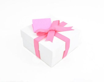 Gift Wrapping Option - Pink Ribbon Gift Box Gift Wrapping