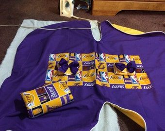 Baby Girk Lakers Car Seat Cover Infant Canopy Cover Baby