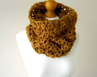 CROCHET COWL PATTERN, Crochet Cowl, Crochet Pattern, Scarf Pattern, Cowl Scarf, Womens Cowl, Cowl Scarf, Instant Download - The Ami Cowl