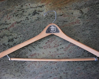 Great 1950s Eagle Clothes High-End Wood Hanger