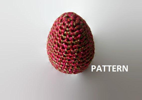 Amigurumi Easter Egg Pattern : Crochet Pattern Easter egg Amigurumi by isWoolish on Etsy