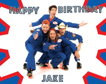 Imagination Movers Cake Topper with FREE Personalization