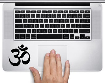 Laptop decal – Laptop Sticker – Macbook Pro decal – Macbook Air decal – Car window – Hipster - Track pad - Yoga Namaste