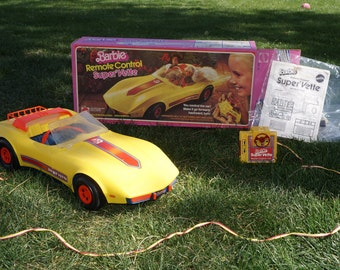 Working 1979 Barbie Super' Vette!!!  You so want to have this again!!!!!
