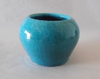 Minimalist Turquoise Earthenware Decor by Australian Artist Travis Collins