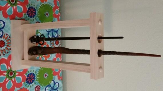 magic wand custom wand holder harry potter size wand. Black Bedroom Furniture Sets. Home Design Ideas
