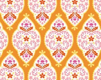 Sunshine Linen  - Medallion - Orange by Dena Designs