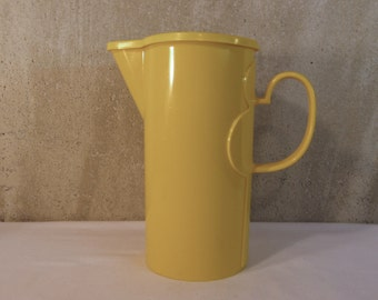 Dansk Yellow Plastic Pitcher with Lid - Gunner Cyren