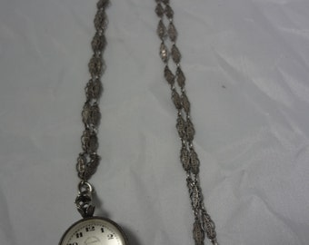 1930'S E. Leicht-Mayer Ball Watch Pendant for Lucerne