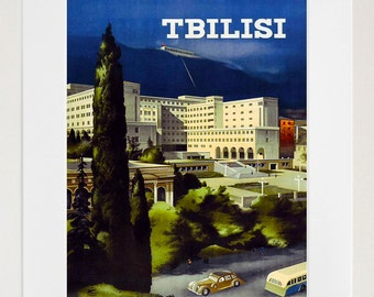 Russia Travel Art Vintage Poster Print (TR130)