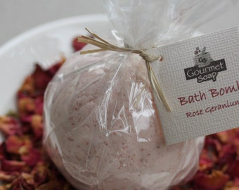 Rose Geranium Bath Bomb