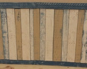 Customer Inspired Color Design Wainscoting (Price per linear foot. 10 foot wall 199.50 dollars)