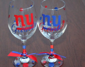 New York Giants Glassware