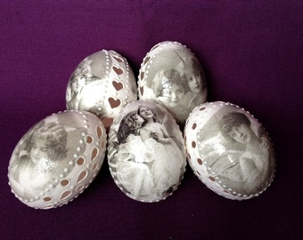 Hand Decorated Madeira Painted Egg