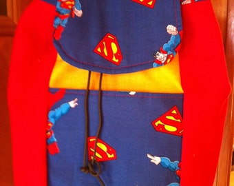 Superman Toddler Character  Backpack