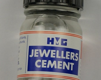 Jewellers glue cement stone setting jewellery work adhesive setter hobby craft