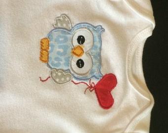 SALE 40% OFF- Cute Baby Boy Clothes- Boy shirt-Boy Clothes-Boy Owl Bodysuit- Personalized Owl Bodysuit- Baby Clothing-One Piece Bodysuit- Ap