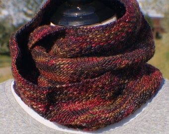 Cowl - Scarf - Infinity Scarf - Hand Knit