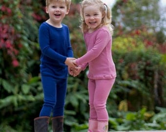 Cosy merino leggings by CoochyCoo Ltd. Sizes 6 months - 6 years with free shipping!