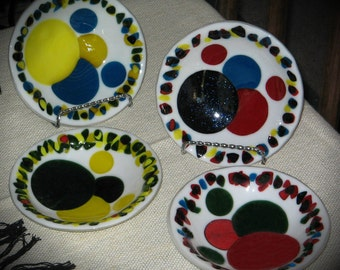 Colourful Fused Glass Dishes
