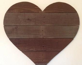 Wood Heart Wall Decor