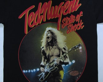 TED NUGENT - State of shock tour 1979 -   t-shirt ( s-xxl ) top-notch merch!!