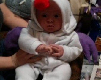 Baby Moogle Costume inspired by Final Fantasy--NO WHISKERS!