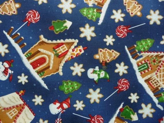 Blue Quilt Fabric Blue Christmas Quilt Fabric