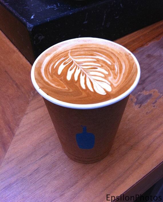 Blue Bottle Coffee Latte Art Photo