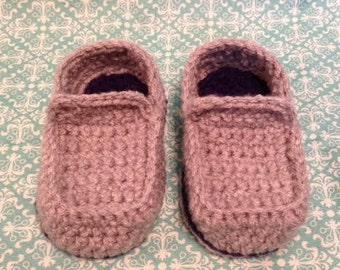 Crocheted Loafers