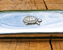 Tortoise Glasses Spectacle Metal Case Turtle Gift FREE ENGRAVING