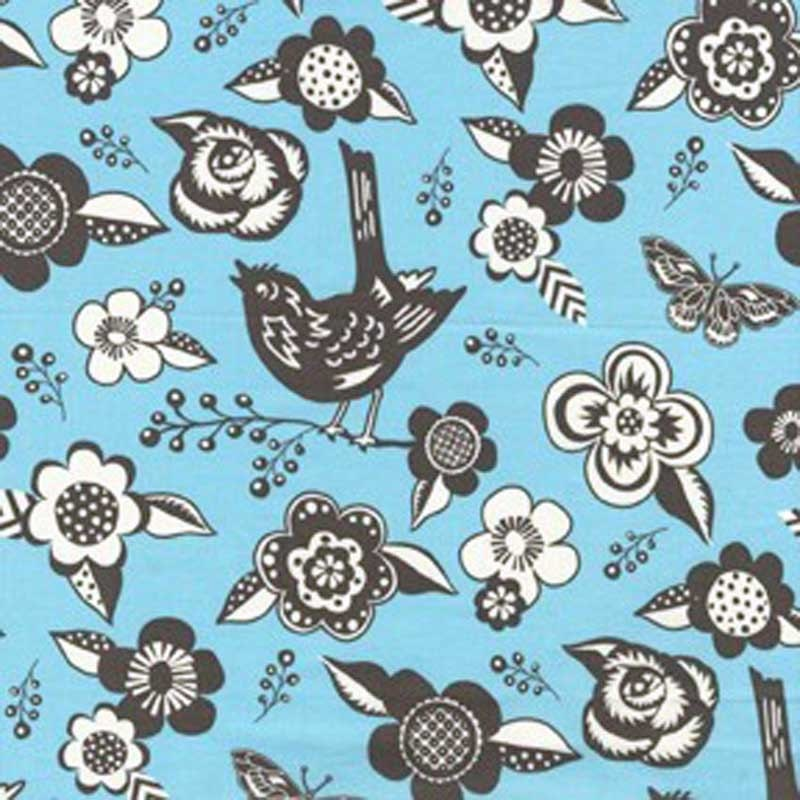 Quilting cotton fabric by the yard woodland fabric in for Childrens cotton fabric by the yard