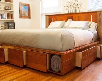 Woodwork Captain Bed Plans King PDF Plans