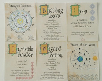 Wizard Spell Book INSTANT DOWNLOAD