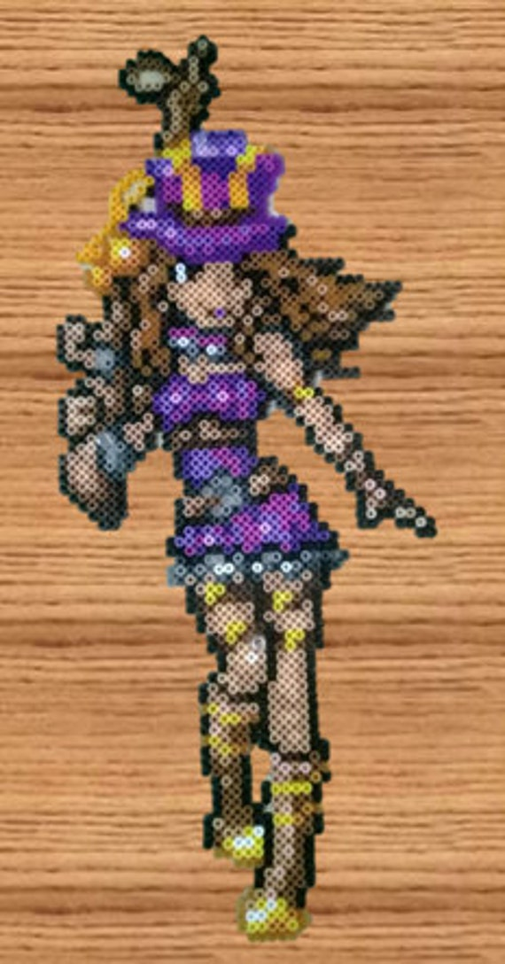 Items similar to league of legends caitlyn decoration lol for 8 bit decoration