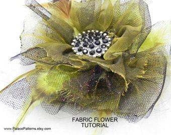 Hibiscus Fabric Flower Tutorial - Easy Handmade Flower