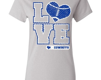 Cowboys fan shirt etsy for Custom t shirts one day delivery