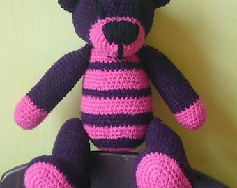 Crochet Teddy Bear Violet