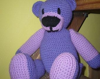 Crochet Teddy Bear Milka