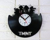 Vinyl Record Clock - TMNT.