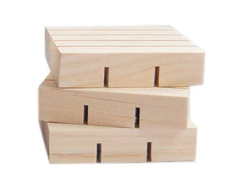 Sustainable Pine Soap Deck 3x3