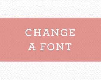 Font Change   Wedding invitation design