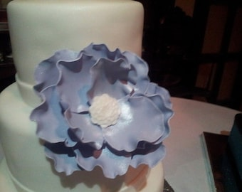 Large sugar paste flower gumpaste flower