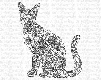 Popular items for adult coloring page on Etsy