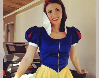 Snow White Inspired Adult Running Costume