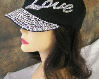 LOVE HATS with stones