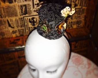 Hand made mini top hat, Under the Big Top
