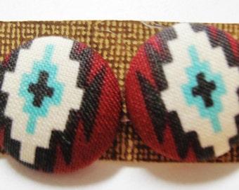 Native Aztec Buttons
