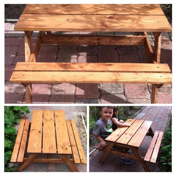 kids outdoor picnic table toddler picnic by travelingelephants. Black Bedroom Furniture Sets. Home Design Ideas