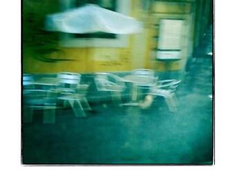 Pavement Café, Rome - Fine Art Photographic Miniature